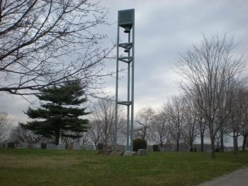 Cemetery Cell Site. Bring out your dead... Can ya hear me now.... talk to the dead... The possibilities are endless!